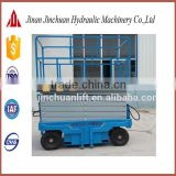 four wheels hydraulic mobile motorcycle lift SJY0.3-4