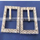 Wholesale Supply of 15mm Diamond Rectangular Buckle Pet Collar Alloy Buckles Upscale Rhinestone Dog Collar Buckle