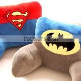 Wholesale Office United States captain plush cartoon iron man u-shaped neck pillow lumbar pillow