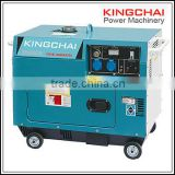 KINGCHAI Power Factory 5kw air cooled diesel generator set silent type 5kva 186F-1Diesel Engine Generator