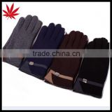 Men's polar fleece gloves for touchscreen                                                                         Quality Choice