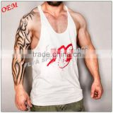 MENS Y-Back T-Back Racerback Bodybuilding Stringer Tank Top Muscle Gym Singlet                                                                         Quality Choice