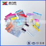 Printed self adhesive seal plastic OPP bag with header                                                                         Quality Choice