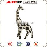 30 cm black and white ceramic giraffe figurine, giraffe sculpture for home decor