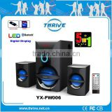 2.1 home theater Speaker with USB/SD/FM/LED display/ Remote