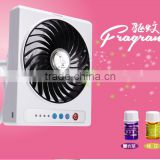 Factory Price Summer Air Cooler Fan,Plastic Fan 3 Speeds Laptop Fan with Fragrances Radiator Fan
