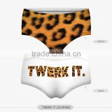 adult top hot sex panties pug dog cut cat sexy girls tight lingerie stretchy underpanties 3d digital full print custom hot sale