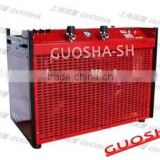 GSW200 Big Workload 200-300 Bar Efficient Portable High Pressure Air Compressor for Diving Center/Club