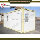 professional manufacturer supply steel security armored house / bulletproof prefab house