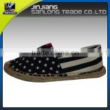 New design custom brand casual men canvas shoes