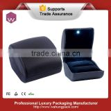 Black light plastic ring insert jewelry box(WH-4031-ML)