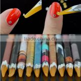Self Adhesive Dotting Pen Nail Art Gem Rhinestone Pick Up Wax Pen Tool