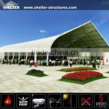 Big Prefabricate aircraft hangar construction tent with aluminum structure for exhibition