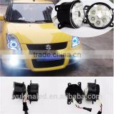 18W 6LEDs 6500K LED fog lamp for Lexus GS350 LX570 RX270 RX350 RX450 RX IS CT SCION IQ XB TC PEUGEOT 107 SUBARU TREZIA SUZUKI