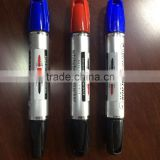 Twin-tip multi-color whiteboard marker with brands