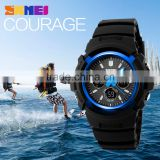 2016 SKMEI Original Factory Hot selling Two Time 50m water resistant Sport Watch 1149