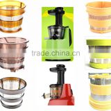 Household fruit juicer machine of stainles, AC induction motor of stainless steel filter, Slient juicer of stainless steel filte
