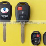 Uncut new key 2+1 buttons Toyota RAV4 Keyless remote key fob                                                                         Quality Choice