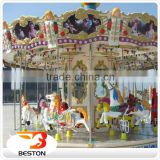 Interesting and thrilling amusement park kids carousel ride,kides carousel rides for sale