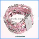 Wholesale Hot Sale Pink Friendship Brazilian Bracelets FHB-001C