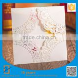 Wholesale upscale hand decorated cards, wedding invitation cards, birthday invitation cards