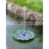 solar lotus fountain solar lotus water pump for pool SO5039