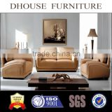 livingroom furniture cowhide leather sofa set 1+2+3 6006