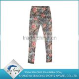 Beautiful polyester fabric Printed Leggings for lady