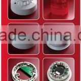 Fire alarm system fire control smoke detector 2-wire network type 4-wire network type photoelectric smoke detectors