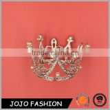 Promotional Gift Wholesale Costume Jewelry From China Wedding Tiara Crown Fashion Jewelry
