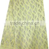 African sequin french lace 2014 organza lace fabric