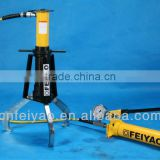 FY-EPH-108 skid-resistant hydraulic gear puller with three way grip /max spread 304mm extension 203mm