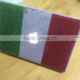 Italian Flag Frosted Plastic Case for Macbook Pro Retina 13