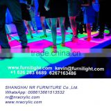 WIFI control disco 3d led floor panel,portable rgb color changing illuminated led dance floor
