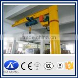 light duty electric hoist jib crane price for sale