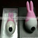Sex toy for women 10 Speed strong vibrating Rampant Silicon double ear Rabbit Vibrator