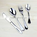 6PCS Stainless Steel Tableware set,Stainless Steel Spoon&Fork&Knife Tableware Set
