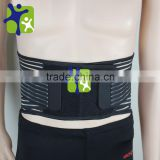 Summer breathable waist Fish Ribbon Belt, lumbar support office, lumbar fixation with steel protection