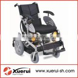 Medical foldable powered wheelchair