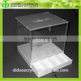 DDD-0082 Trade Assurance Shenzhen Factory Wholesale SGS Test Customized Ballot Box With Locking Cash Drawer