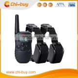 300m Remote Control 2 dogs, No Bark Dog Training Shock and Vibration Collar
