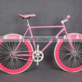 factionable TZ brand steel frame fixed gear bicycles/bikes suit for bigger children or adult chopper bike road bike