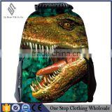 Best selling 2d 3d cartoon canvas satchel backpack bag/backpack/customized backpack bag/shcool bag-087