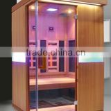 On Sale Salon Skin Beauty 2 in 1 Combination Sauna for 2 person (CE/ISO/ETL)