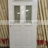 alibaba directly factory sale used exterior commerical french steel door with toughtened glass made in yongkang