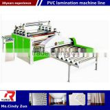 Acrylic High glossy laminating machine/pvc laminated gypsum ceiling board making machine