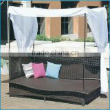 rattan day bed / rattan day bed / outdoor rattan sofa bed