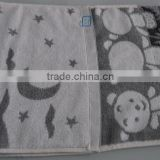 100% Cotton Tile Grey Moon Hand Face Towel