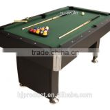 Classic stylish high quality 7 feet Factory promotion mdf+slate billiard pool table for sale now, auto ball-return system