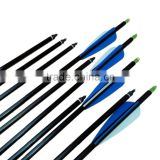 Aluminum arrow shafts aluminum hunting arrows for hunting